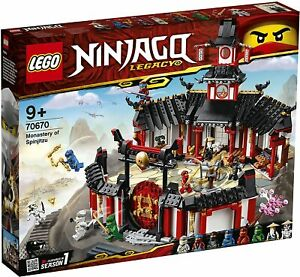 LEGO® Ninjago® 70670 - Kloster des Spinjitzu