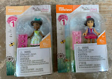 NEW Mega Construx American Girl Wellie Wishers Series 1 Lot of 2