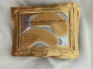 COLLAGEN AND HYALURONIC GOLD EYE MASKS