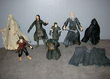 Figurines Seigneurs des Anneaux Hobbit Bilbo/Saroumane/gandalf/Aragorn Strider