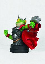 THOR FROG of Thunder mini bust~Gentle Giant~Avengers~Capt America~NIB