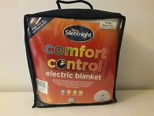 Silentnight COMFORT CONTROL KING SIZE Electric Blanket  BEAB Approved