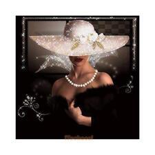 Beauty Lady 5D DIY Embroidery Diamond Painting Cross Stitch Kit Needlework