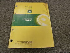 John Deere 9400 9500 9600 Combine Owner Operator Manual User Guide OMH146991