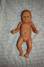 Vintage Doll Realistic Newborn Baby Girl Doll Vinyl 18