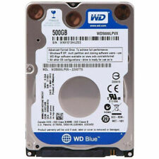 Western Digital Blue, 500GB, Internal, 5400RPM, 2.5 inch, WD5000LPVX, Hard Drive