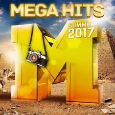 MEGAHITS-SOMMER 2017  (JAMES BLUNT, LINKIN PARK, ED SHEERAN, ...) 2 CD NEW