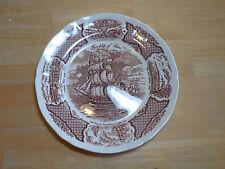Alfred Meakin Fair Winds England FRIENDSHIP OF SALEM Set of 2 Dinner Plates