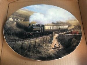 LOCAL DELIVERY BY DON BRECKON, RAILWAY MEMORIES LIMITED EDITION PLATE.