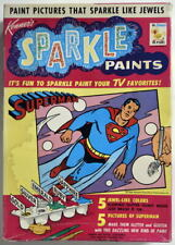 1967 SUPERMAN SPARKLE PAINTS Boxed Set Factory Sealed Kenner Rare