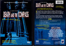 DVD Alex Cox DEATH AND THE COMPASS Peter Boyle UNRATED Anchor Bay WS TV R1 OOP