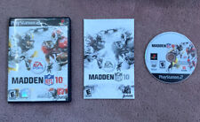 EA Sports Madden NFL 10 PlayStation 2 PS2 Game Complete, Tested With Manual