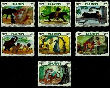 Disney Stamps, Bhutan, Year 1982, Mnh, Lot 11