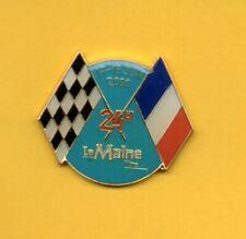 Pin's pins Lapel pin 24H  24 HEURES DU MANS LE MAINE LIBRE 2000 Checker Flag