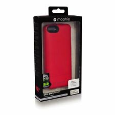 Mophie Juice Pack Helium Rechargeable Battery Case iPhone 5/5S/SE - Red