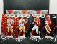 2020 Panini Mosaic Steve Young Prizm Jerry Rice Hall of Fame Non Silver SP 49ers