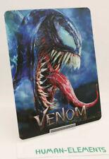 VENOM - 3D LENTICULAR Flip Magnet Cover TO FIT bluray steelbook