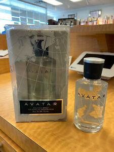 COTY AVATAR COLOGNE 75 ML / 2.5 OZ SPRAY MEN ORIGINAL PLASTIC BOX STORE RETURN