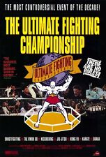 UFC ULTIMATE FIGHTING CHAMPIONSHIPS Movie POSTER 27x40 Vintage 1993
