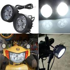 New 4 LED Motorcycle Mirror Mount LED Driving Fog Spot Light Spotlight For Honda