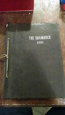 The shamrock my Cory Ohio 1938 High School Yearbook