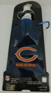 Chicago Bears Foldable Water Bottle 16 oz Biking Hiking