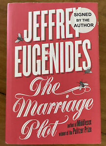 The Marriage Plot by Jeffrey Eugenides SIGNED HARDCOVER