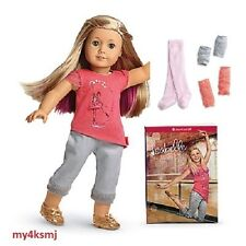 American Girl ISABELLE DOLL + BOOK + 3 pc LEGWARMERS SET Fast SAME DAY SHIPPING