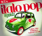 CD Italo Pop Legends d'Artistes divers 4CDs