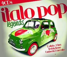 CD Italo Pop Legends  von Various Artists  4CDs