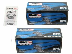 Hawk HPS Brake Pads Front & Rear RSX Type S Civic Si S2000 Honda Acura