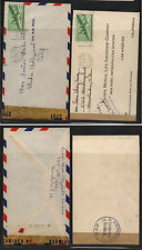 US  Hawaii,  2  censor covers to US  different censor tapes       KL0106