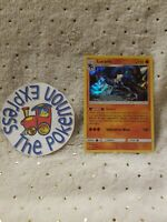 Pokemon TCG Lucario #71/147 Burning Shadows Holo Rare Mint Fighting English