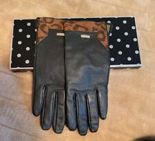 Suzy Smith Leather Gloves M/L
