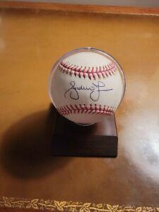 Andrew Jones Atlanta Braves Autographed Baseball- Steiner Cert
