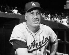 DUKE SNIDER 8X10 PHOTO LOS ANGELES DODGERS LA PICTURE BASEBALL MLB B/W