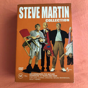 Steve Martin 3 Movie Pack Parenthood House sitter The Jerk In Excellent Cond!