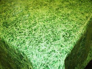 GRASS VINYL WIPE CLEAN PVC TABLECLOTH