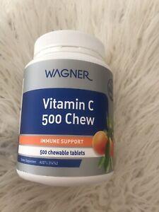 Wagner Vitamin C 500 Tablets 500mg