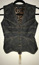 Dolce&Gabbana Denim Jacket Vest size 36
