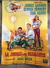 cinema-affiche originale- LA JUNGLE AUX DIAMANTS -120x160 TBE