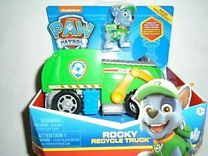 """Nickelodeon Paw Patrol Rocky's Recycle Truck """"NEW"""""""