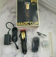 Wahl Cordless Magic Clip Clipper Black & Gold Limited Edition *USED & SANITIZED*