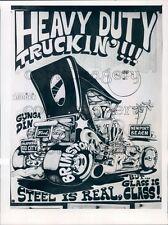 1976 Advertisement Hot Rod Auto Street Rodeo Pinellas Co Florida Press Photo