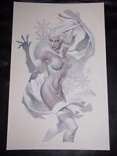 Emma Frost Cover Quality Original Art Commission -Chris Stevens- Amazing Piece-