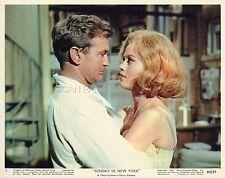 ROD TAYLOR  JANE FONDA SUNDAY IN NEW YORK  1963 VINTAGE LOBBY CARD