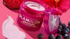Glam Glow Berry Glow Probiotic Recovery Mask- new full size ret. $50