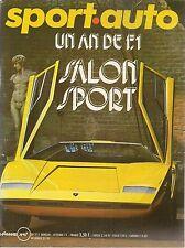 SPORT AUTO 117 1971 GP D'AUTRICHE GP D'ITALIE ESSAI PORSCHE 917 PA RENAULT 17 TS