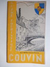COUVIN - GUIDE TOURISTIQUE  par J.Mauer 1952