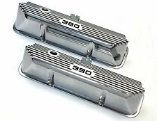 Brand New Ford FE 390 Deep Engraved & Color Filled Polished Valve Covers